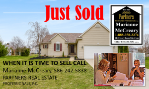 just sold by marianne mccreary