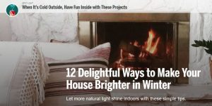 make your house brighter