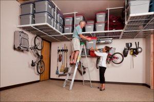 ceiling garage organization