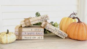 mini fall books
