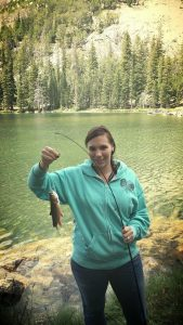 Camping and fishing in Southeast Idaho