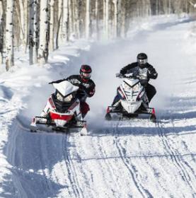 Snowmobile trail report