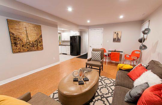 46 Empire Cres., Courtice - Basement Living Area