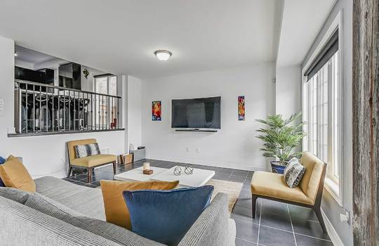 33 Crellin St., Ajax - Family Room