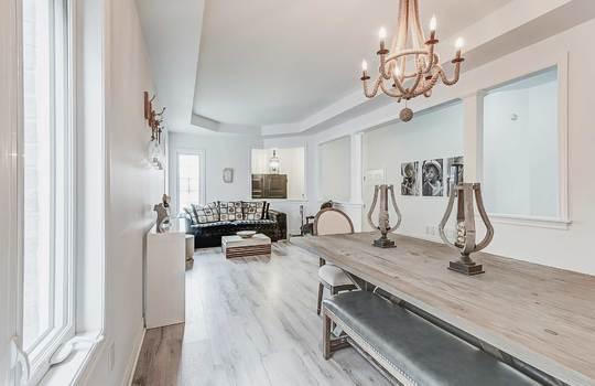 33 Crellin St., Ajax - Living/Dining Room