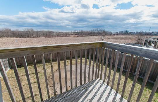 39 Kersey Cres Courtice - Back Yard