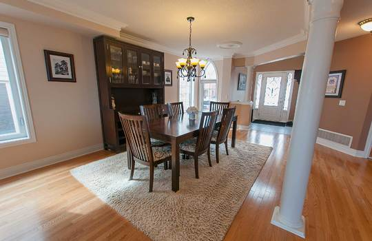 39 Kersey Cres Courtice - Dining Room