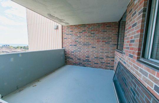 3380 Eglinton Ave E., #1680, Toronto -Balcony