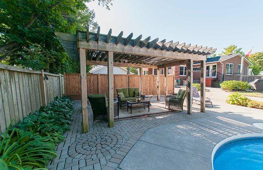 320 John Street, Cobourg - Pool Deck