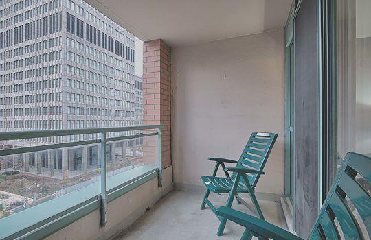 Balcony - 887 Bay St #661, Toronto