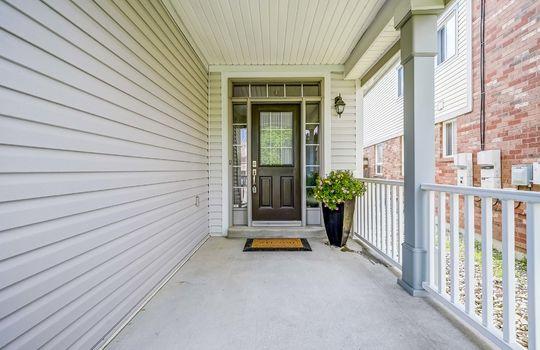 1558 Rorison St, Oshawa - Front Door