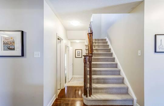 1558 Rorison St, Oshawa - Staircase