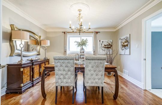 37 Braebrook Dr., Whitby - Dining Room