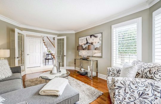 37 Braebrook Dr., Whitby - Living Room