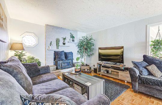 Unit 1 - Living Room - 305 Beech St West Whitby