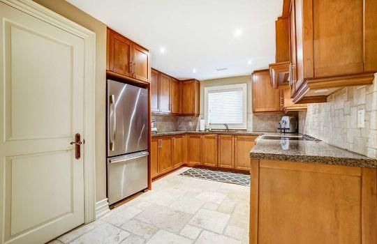 Basement Kitchen- 1 Connie Crt, Whitby