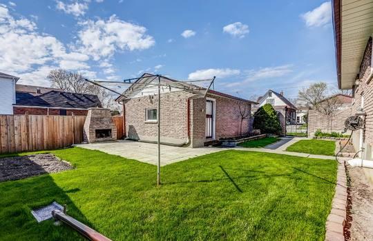 Back Yard - 361 Gliddon Ave., Oshawa