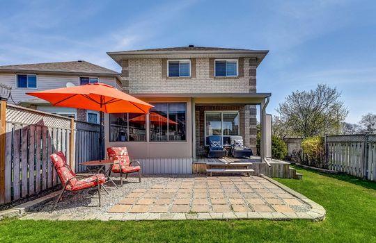 Backyard - 160 High St Bowmanville