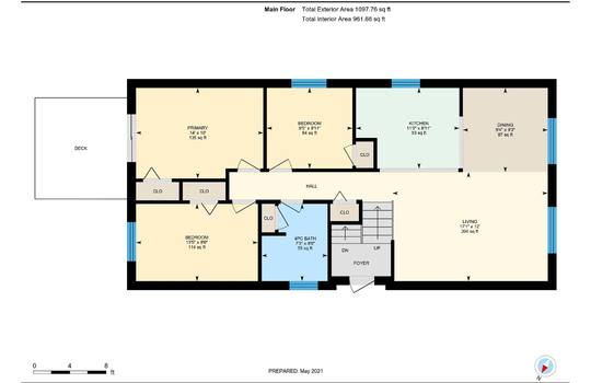 Main Floor Plan - 2080 Foxfarm Rd Peterborough