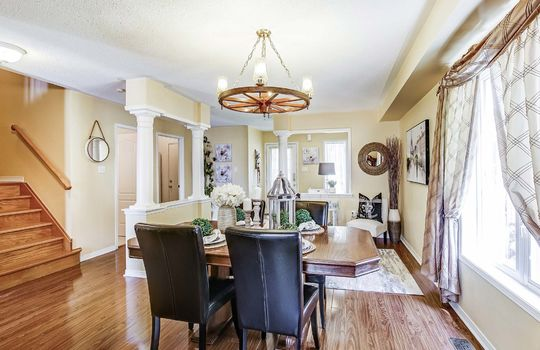 Living/Dining Room - 1676 Spencely Dr Oshawa