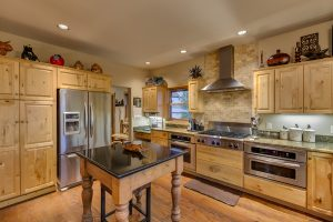 Kitchen in 30450 Triple B Lane, Steamboat Springs, Colorado