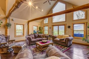 Living area in 30450 Triple B Lane, Steamboat Springs, Colorado