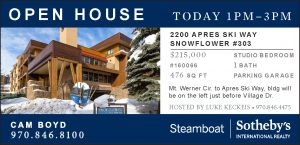 Open House 2200 APRES SKI WAY SNOWFLOWER