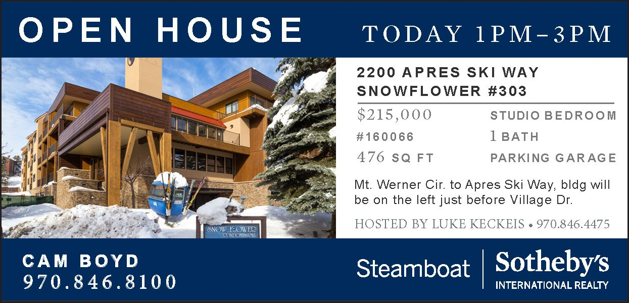 Open House 2200 APRES SKI WAY SNOWFLOWER