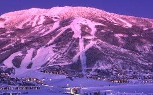 Steamboat Ski Mountain Area