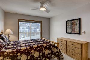 Master Bedroom in Sunray Meadows Condo