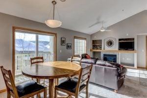 Dining room at Sunray Meadows Condo