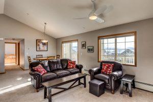 Living room at Sunray Meadows Condo
