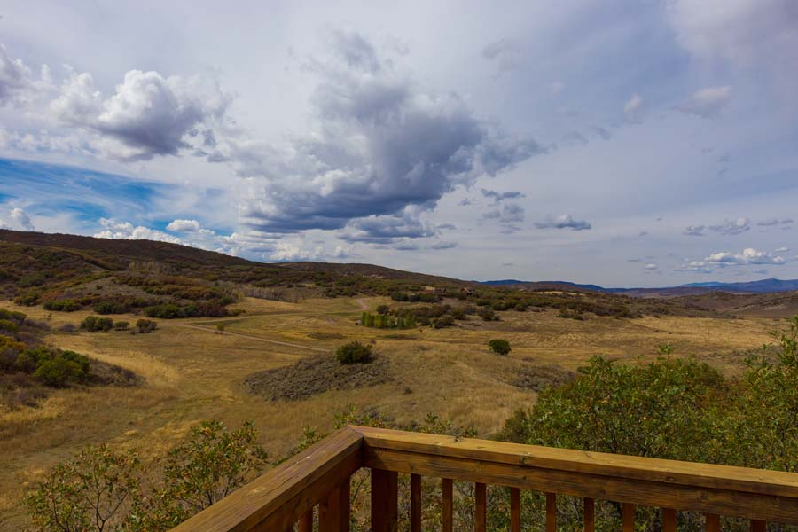 Deck at 31350 Deerwood Ranch Rd, Oak Creek, CO 80467