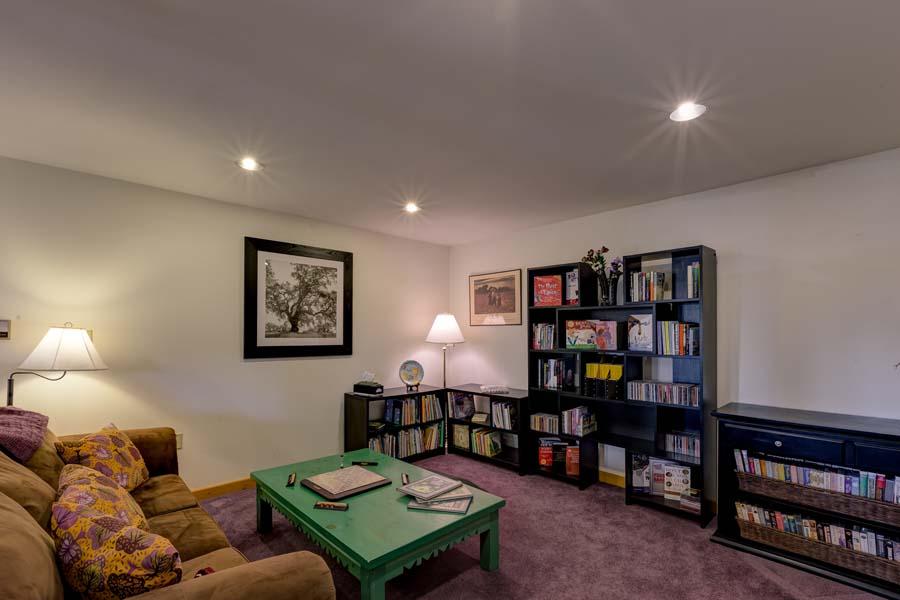 Downstairs room at 31350 Deerwood Ranch Rd, Oak Creek, CO 80467