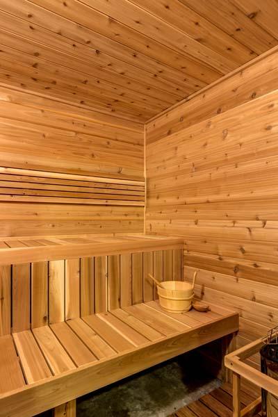 Sauna at 31350 Deerwood Ranch Rd, Oak Creek, CO 80467