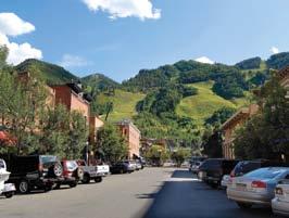 Image of downtown Aspen, Colorado