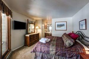Bedroom of 2700 Village Drive, B206, Steamboat Springs, CO