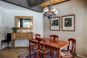 Dining room of 2700 Village Drive, B206, Steamboat Springs, CO