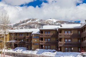 Exterior of 2700 Village Drive, B206, Steamboat Springs, CO