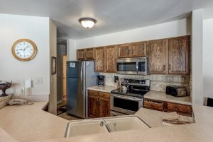 Kitchen of 2700 Village Drive, B206, Steamboat Springs, CO