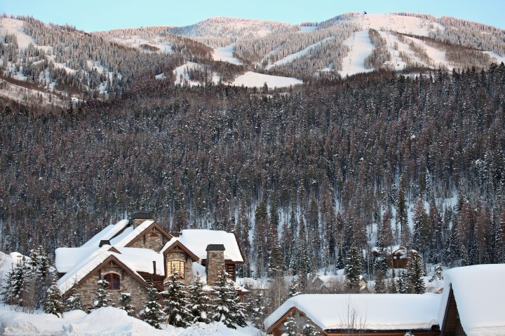 Mountain Views from 2275 Golf View Way, Steamboat Springs, CO