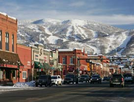 Image of Downtown Steamboat Springs