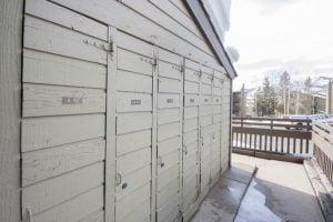 ski lockers at The Lodge, Steamboat Springs