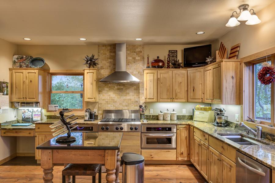 Kitchen at 30450 Triple B Lane