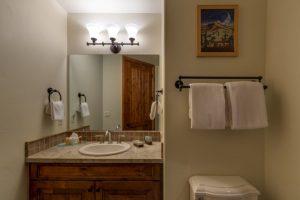 Bathroom at 1495 Eagle Glen Drive, Unit D1 Steamboat Springs, CO
