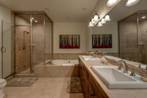 Bathroom at 1495 Eagle Glen Drive, Unit D1 Steamboat Springs, CO