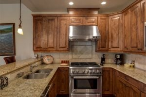 Kitchen 1495 Eagle Glen Drive, Unit D1 Steamboat Springs, CO