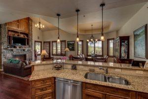 Kitchen 1495 Eagle Glen Drive, Unit D1 Steamboat Springs, CO