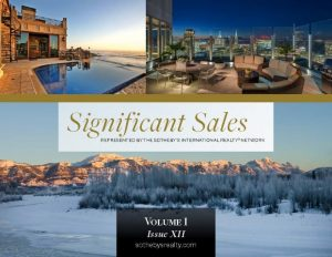 Image of page one of Significant Sales