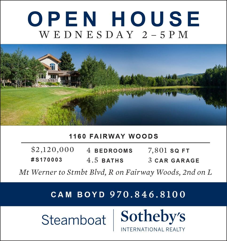 Open House - 1160 Fairway Woods Dr